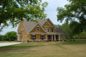 big residential family home on large property